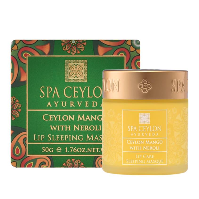 "SPA CEYLON Ночная маска для губ ""Цейлонский манго и Нероли"""