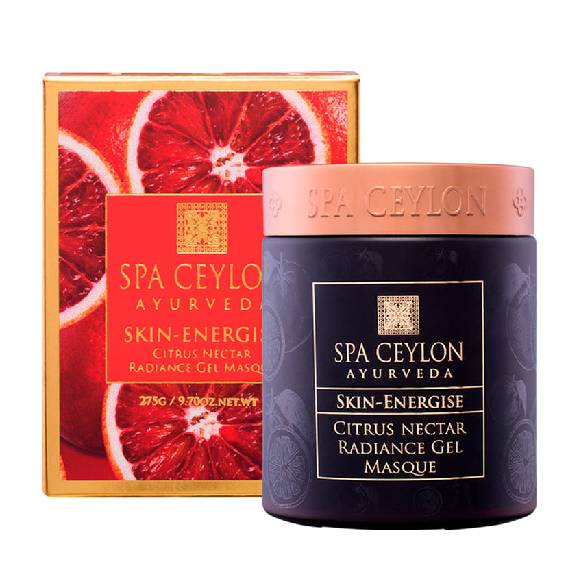 SPA CEYLON Цитрусовая гелевая маска для сияния кожи
