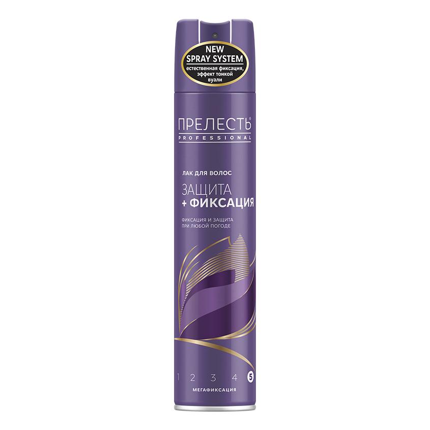 Купить ПРЕЛЕСТЬ PROFESSIONAL Лак для волос Защита мегафиксация