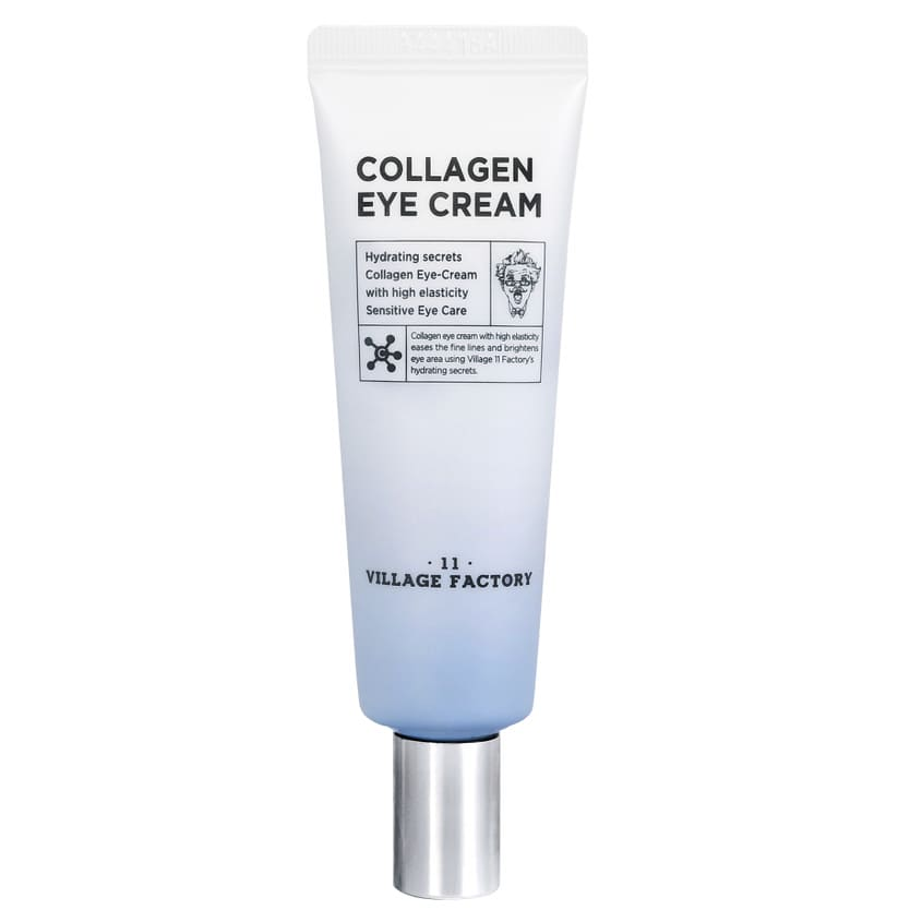 VILLAGE 11 FACTORY Увлажняющий крем для области вокруг глаз с коллагеном Collagen Eye Cream