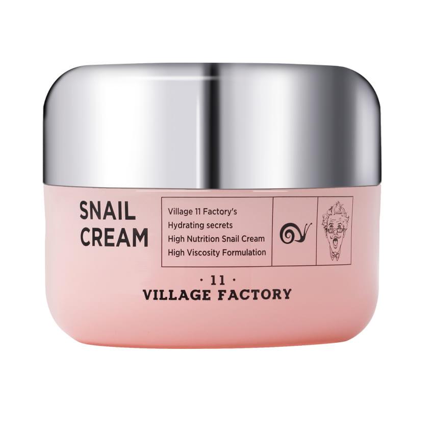 VILLAGE 11 FACTORY Крем для лица с улиточным муцином Snail Cream