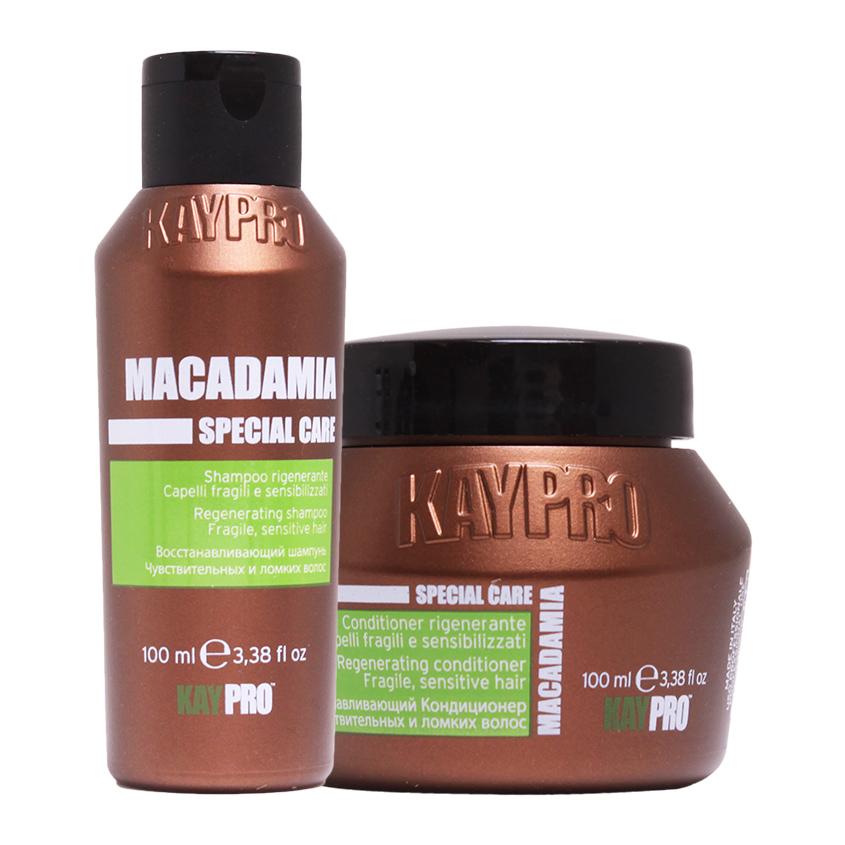 KAYPRO Набор Macadamia увлажняющий: шампунь, кондиционер