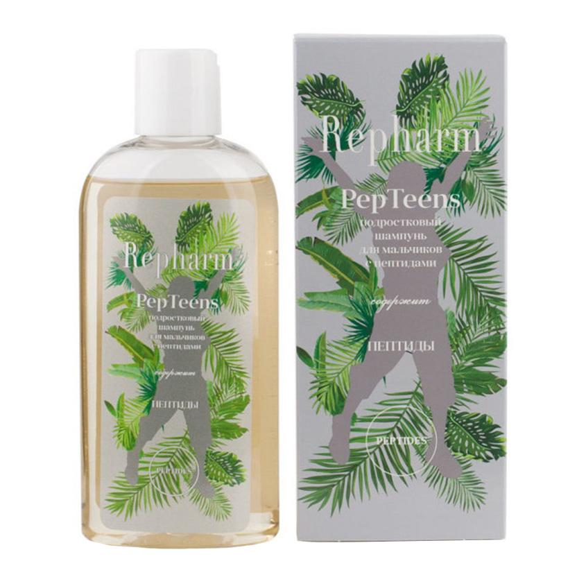 Купить REPHARM Подростковый шампунь с пептидами для мальчиков PepTeens