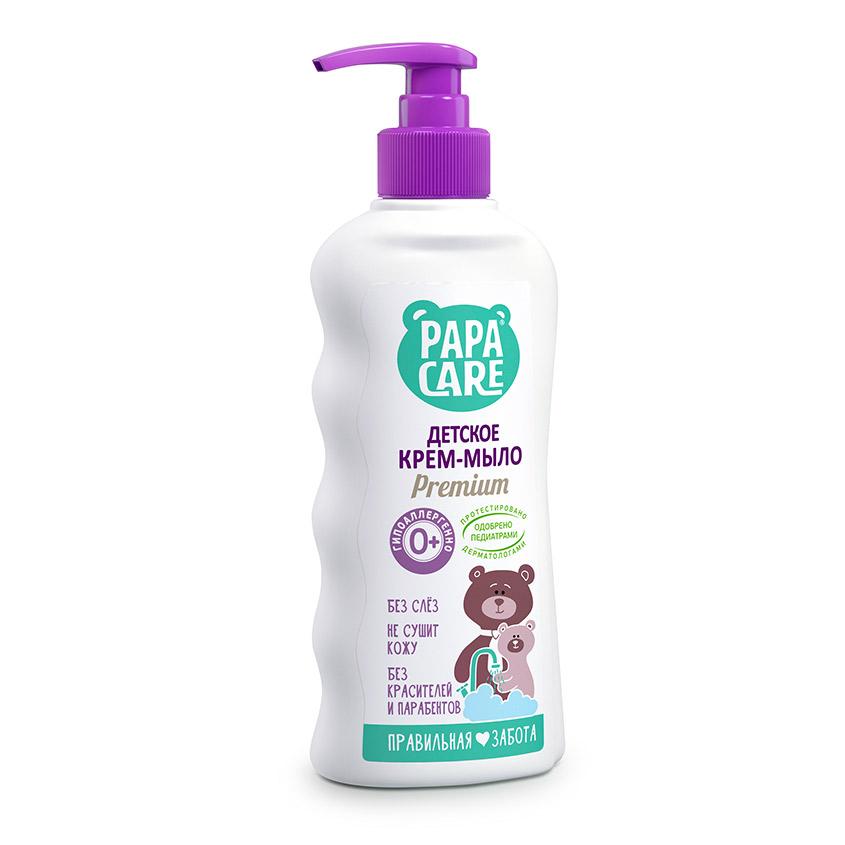 Купить PAPA CARE Крем-мыло жидкое для малышей с помпой