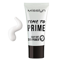 MISSLYN Основа под макияж Time To Prime Silky Soft Skin 25 мл