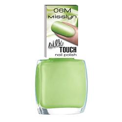 MISSLYN Лак для ногтей Шелковое прикосновение № 06S masterpiece 10 мл misslyn misslyn лак для ногтей с эффектом гелевого маникюра gel effect nail polish 411