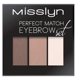 MISSLYN Набор для бровей Perfect match eyebrow set № 2