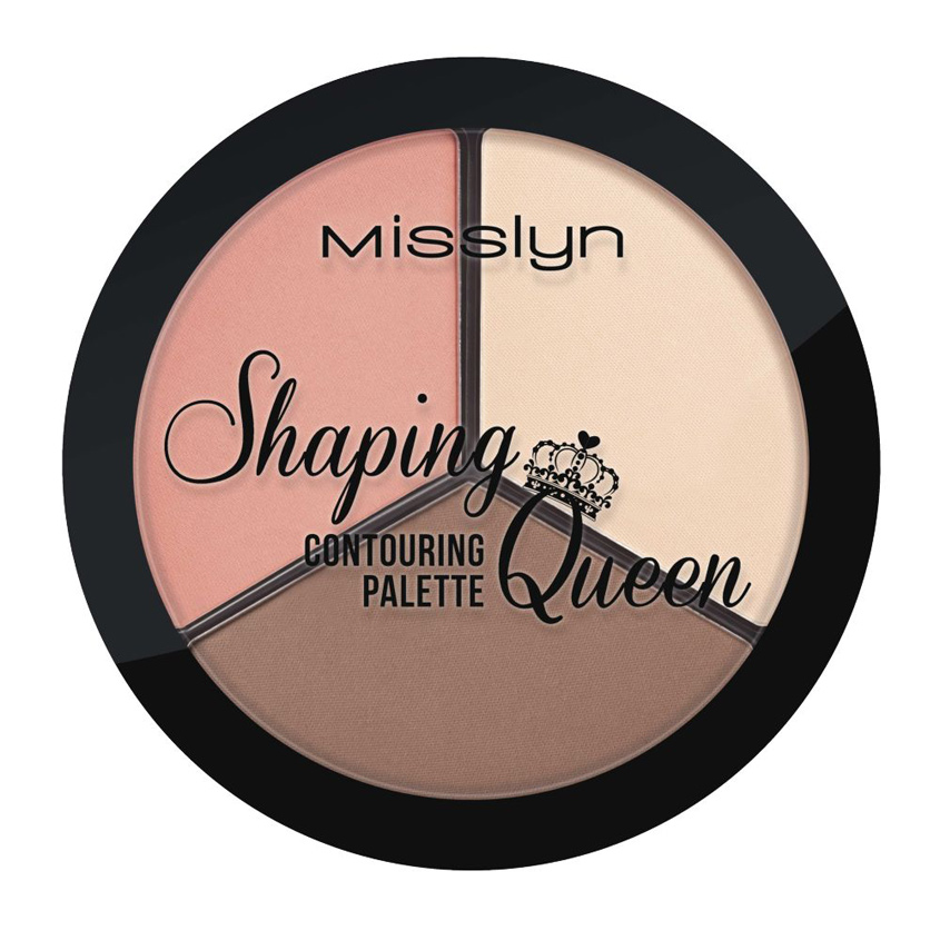 MISSLYN Палетка для контуринга лица Shaping Queen