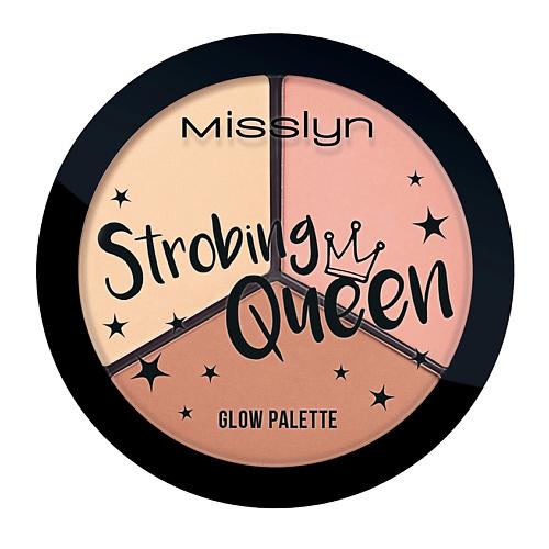 MISSLYN<br />       MISSLYN Сияющая палетка для контуринга лица Strobing Queen Glow Palette