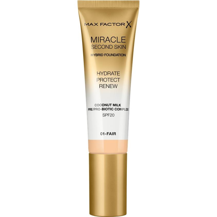 Купить MAX FACTOR Тональная основа Miracle Touch Second Skin