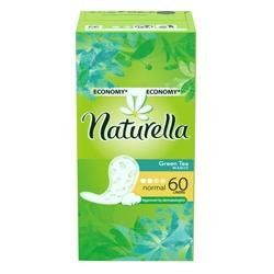 NATURELLA Женские гигиенические прокладки на каждый день Green Tea Magic Normal (с ароматом зеленого чая) Trio 60 шт.