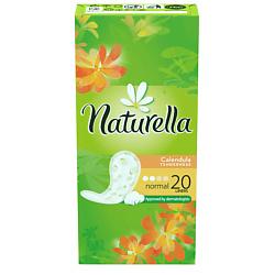NATURELLA Женские гигиенические прокладки на каждый день Calendula Tenderness Normal (с ароматом календулы) Single 20 шт.