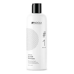 INDOLA Нейтрализующий шампунь для волос с содержанием Пурпурных Пигментов SILVER #1 wash INNOVA 300 мл шампунь indola hydrate shampoo 1 wash объем 300 мл