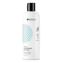 INDOLA Очищающий шампунь для волос CLEANSING #1 wash INNOVA 300 мл шампунь indola hydrate shampoo 1 wash объем 300 мл