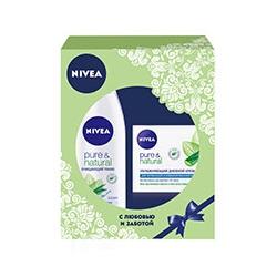 NIVEA ����� ��� ����� �� ����� Pure&Natural 200 �� + 50 ��