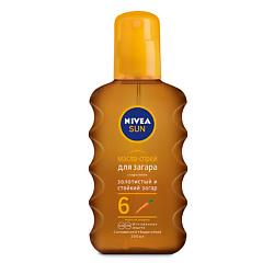 NIVEA Увлажняющее масло-спрей для загара 6 200 мл