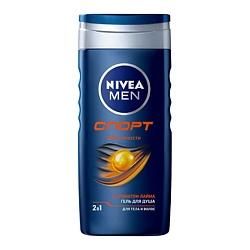 NIVEA NIVEA Гель для душа Спорт для мужчин 250 мл nivea гель для душа свежесть лемонграсса nivea 250 мл