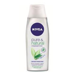 цена NIVEA NIVEA Очищающий тоник Pure&Natural 200 мл