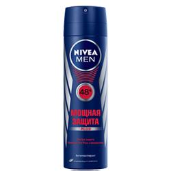 NIVEA Дезодорант-антиперспирант для тела Мощная защита для мужчин 150 мл