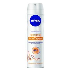 NIVEA Дезодорант-спрей Защита Антистресс 150 мл nivea nivea антиперспирант стик защита и забота 40 мл