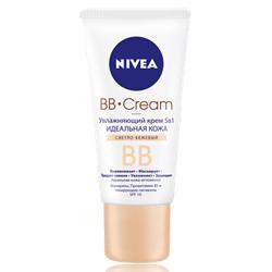 NIVEA Увлажняющий BB-крем 5 в 1 Идеальная кожа Светло-бежевый