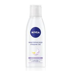 NIVEA Мицеллярная вода Очищение 3в1 200 мл