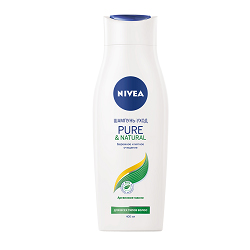 NIVEA Шампунь Pure&Natural 400 мл