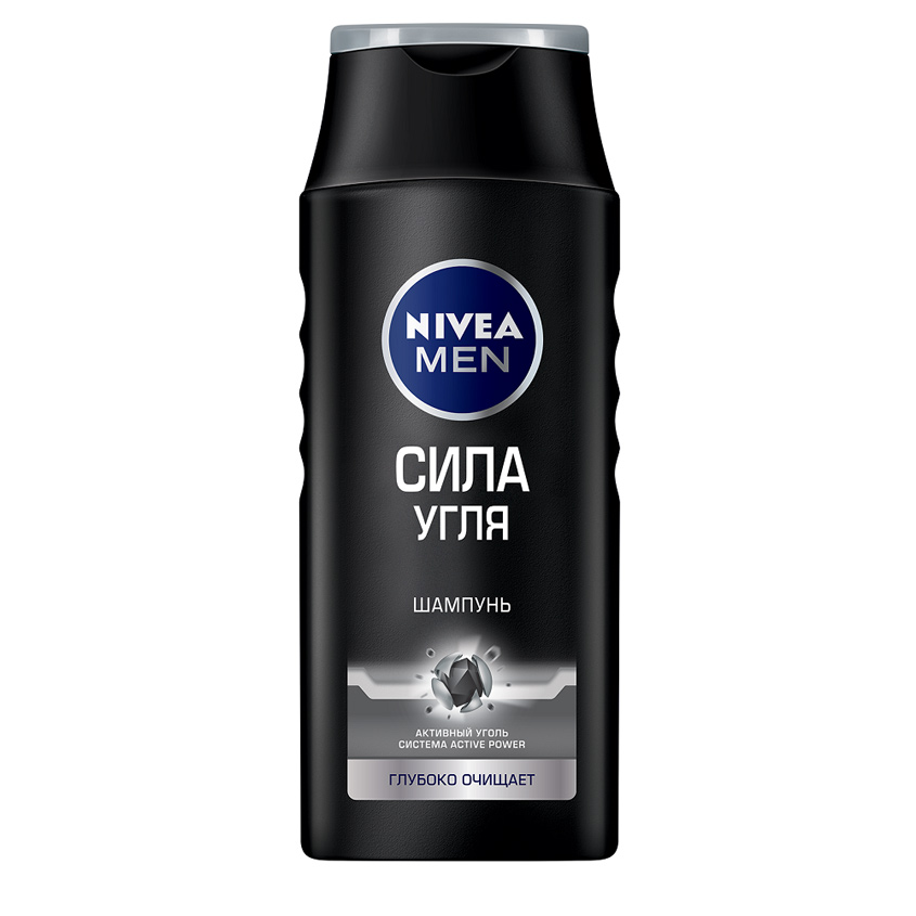 NIVEA Шампунь для мужчин Сила угля