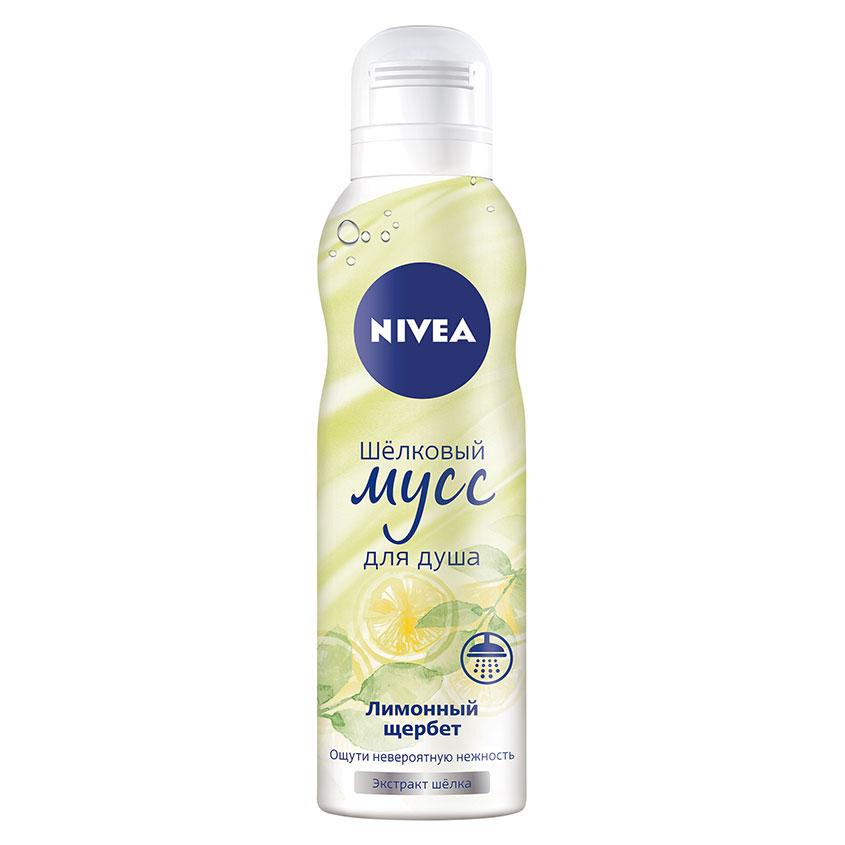 NIVEA Гель-мусс для душа шелковый Лимонный щербет NIVEA Гель-мусс для душа шелковый Лимонный щербет