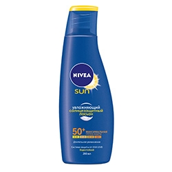 NIVEA Увлажняющий солнцезащитный лосьон СЗФ 50+