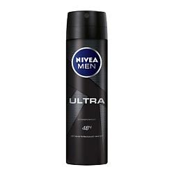 Купить NIVEA Дезодорант-спрей для мужчин ULTRA 150 мл
