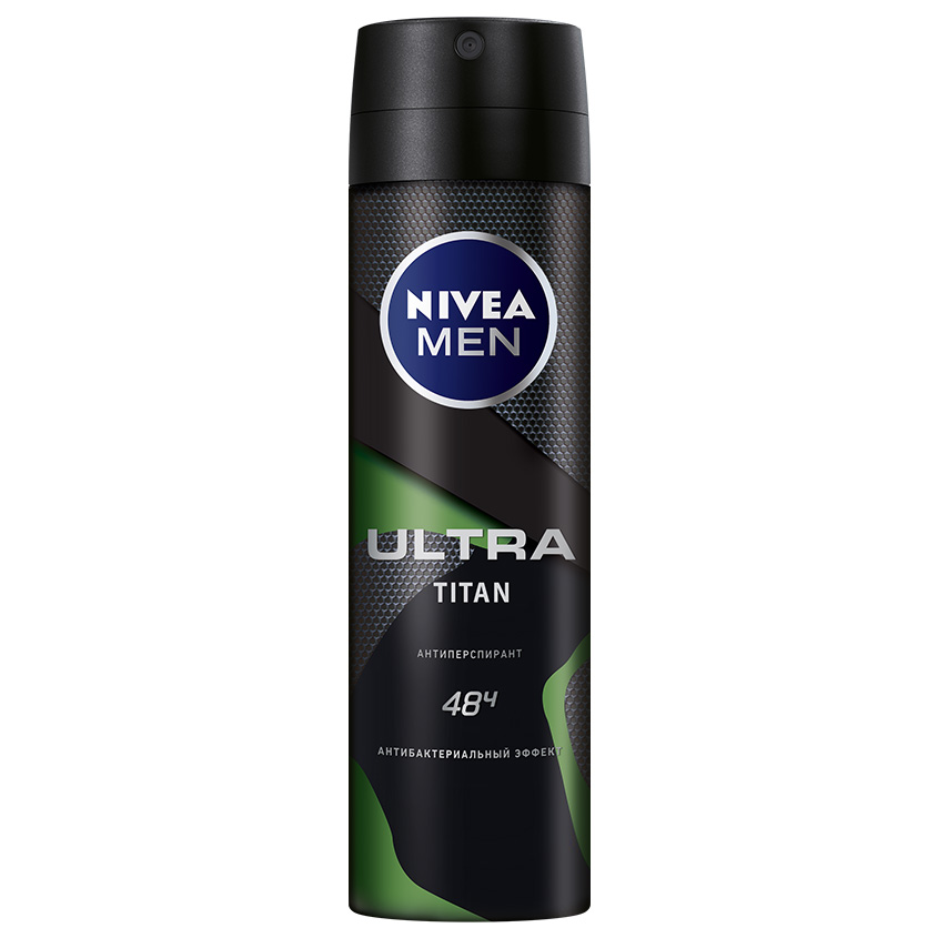 NIVEA Мужской антиперспирант спрей антибактериальный эффект Titan