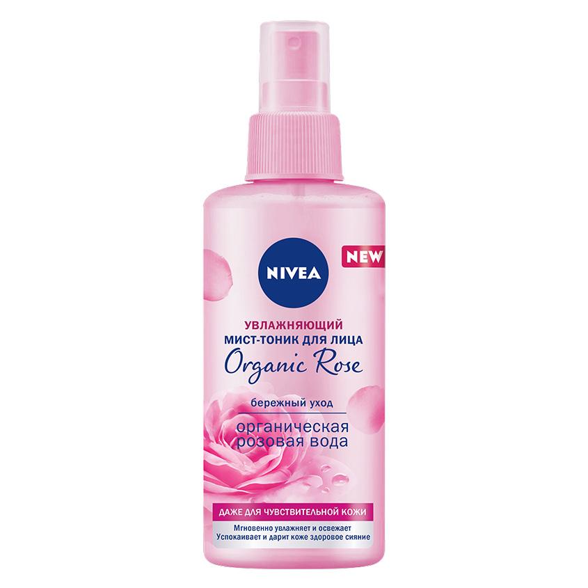Купить NIVEA Увлажняющий мист-тоник для лица Organic Rose