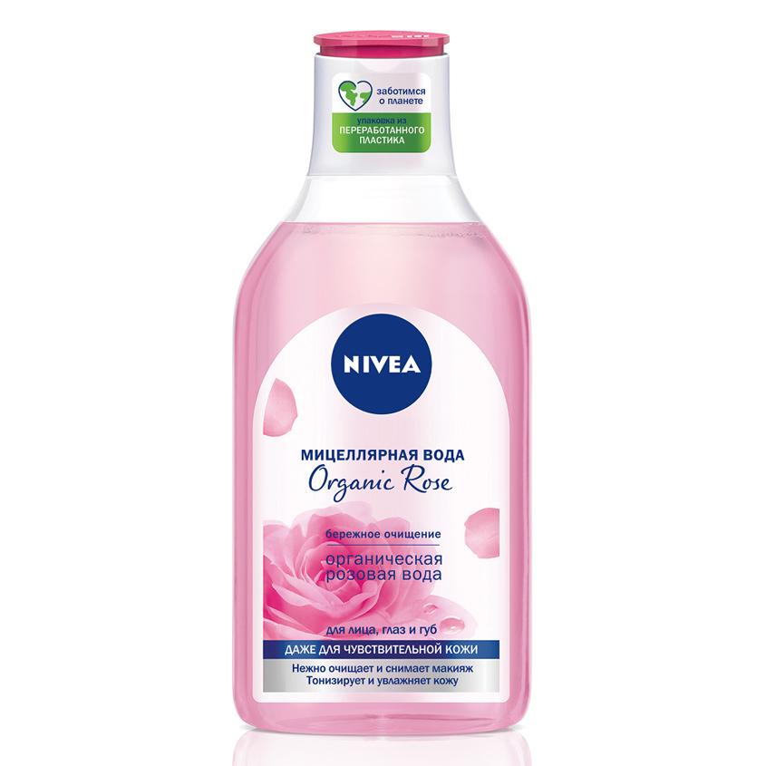NIVEA Мицеллярная вода Organic Rose