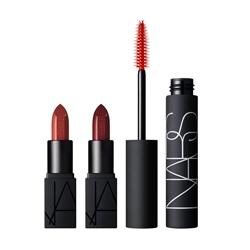 NARS Набор Audacious EyeLip Тушь для ресниц MINI + мини Audac Lipstick 2 шт.