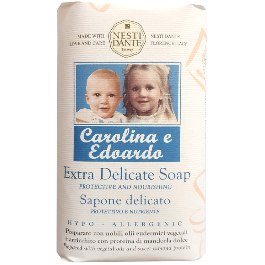 NESTI DANTE Мыло DELICATE Carolina & Edoardo