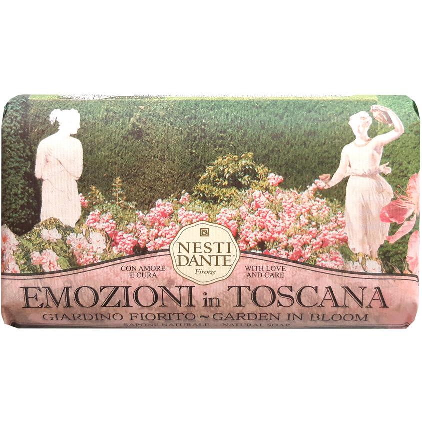 NESTI DANTE Мыло EMOZIONI IN TOSCANA Garden in Bloom