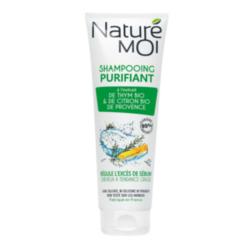NATURE MOI Шампунь для волос очищающий с экстрактами TМИНА и ЛИМОНА BIO 250 мл
