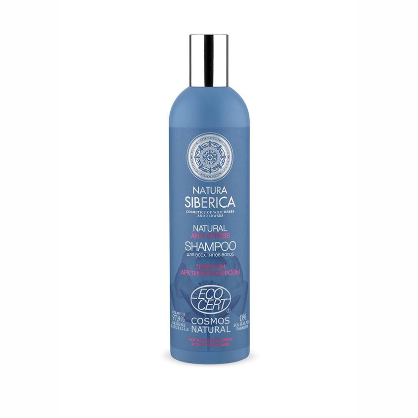 NATURA SIBERICA Anti-stress Сертифицированный шампунь для всех типов волос