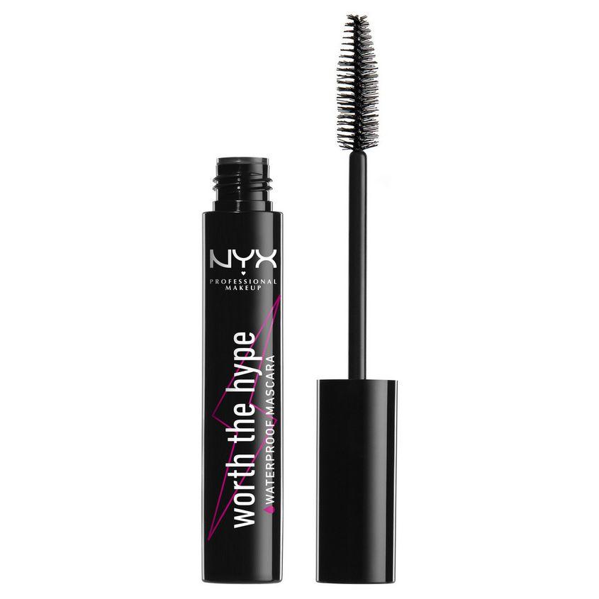 Купить NYX Professional Makeup Водостойкая тушь для ресниц. WORTH THE HYPE WATERPROOF MASCARA