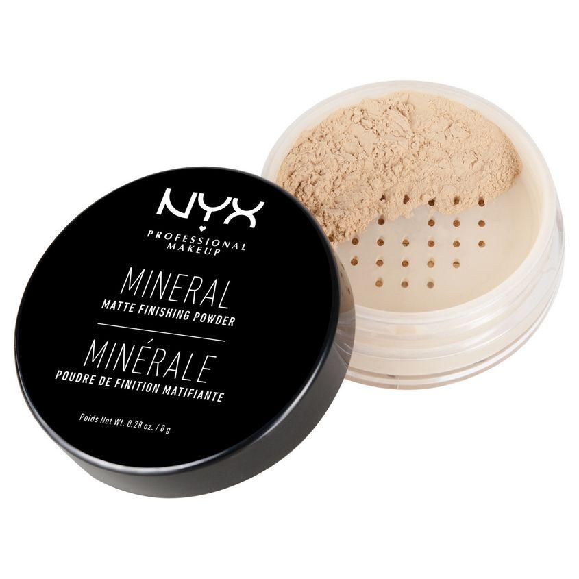 NYX Professional Makeup Фиксирующая минеральная пудра. MINERAL FINISHING POWDER