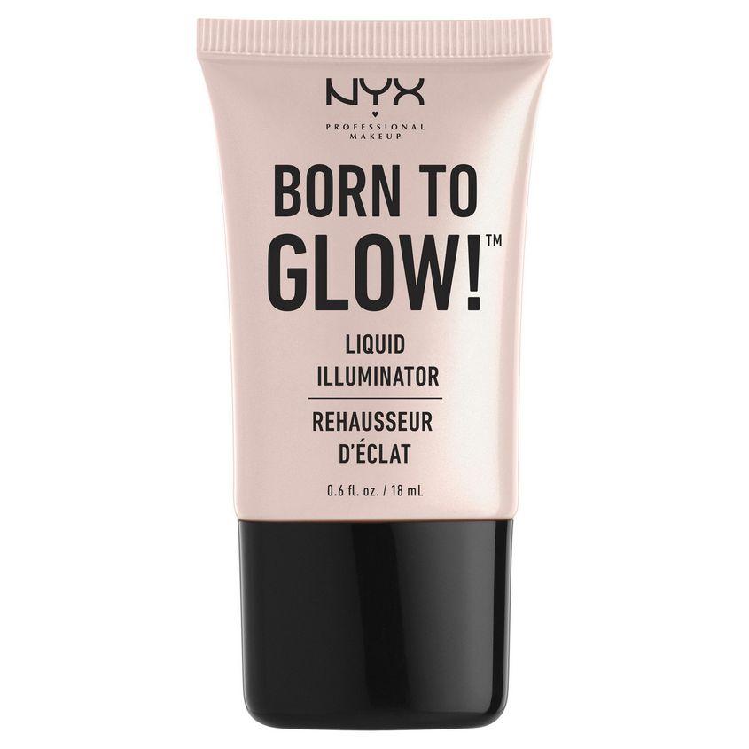 Купить NYX Professional Makeup Хайлайтер для лица и тела. BORN TO GLOW LIQUID ILLUMINATOR