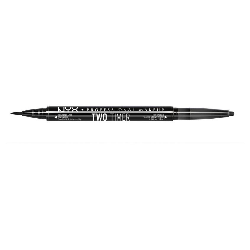 Купить NYX Professional Makeup Двусторонний карандаш-лайнер для макияжа глаз. TWO TIME EYE LINER