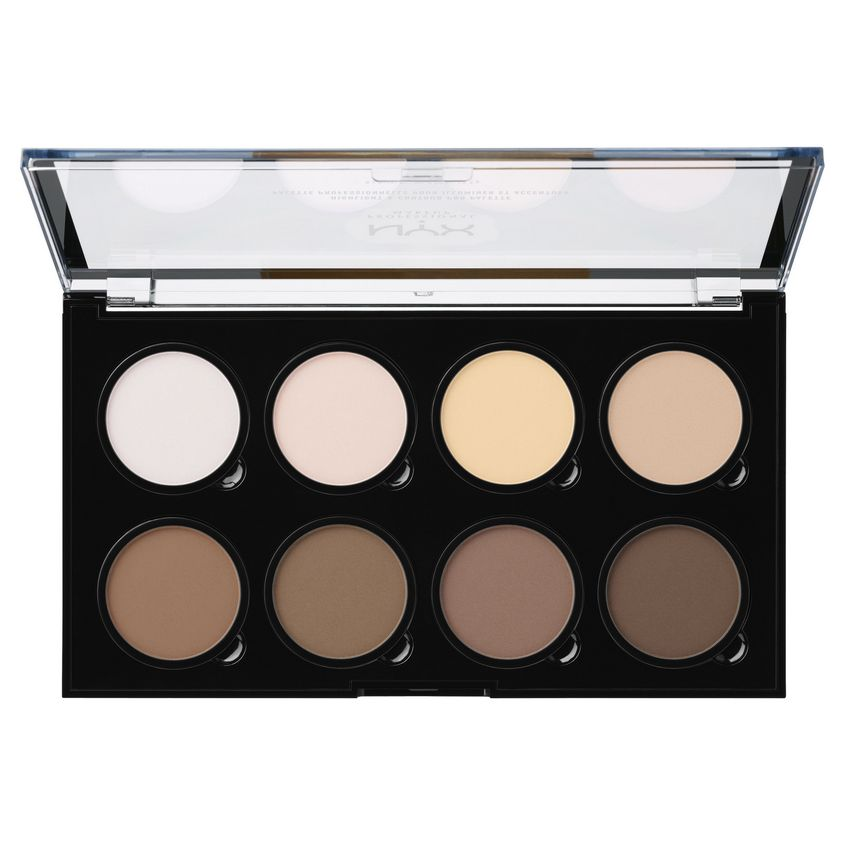 Купить NYX Professional Makeup Палетка для контурирования. HIGHLIGHT & CONTOUR PRO PALETTE