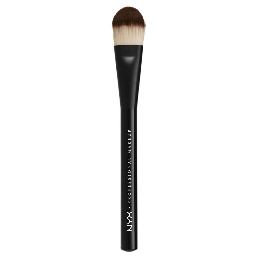 Купить NYX Professional Makeup Профессиональная кисть для нанесения тональных средств. КОНУС. PRO BRUSH - FLAT FNDTN 07