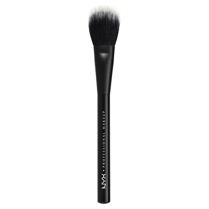 Купить NYX Professional Makeup Профессиональная кисть для нанесения пудр и румян. ДВОЙНАЯ ТЕКСТУРА. PRO BRUSH - DUAL FIBER PWDR 08