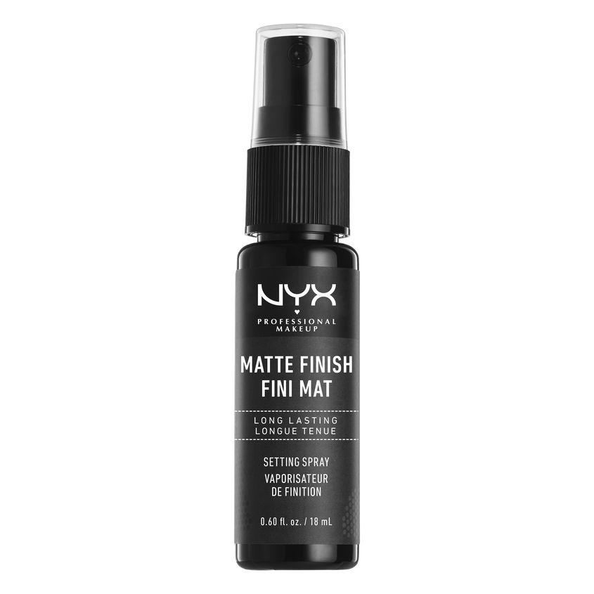 Купить NYX Professional Makeup Спрей-фиксатор макияжа, матрирующий. Тревел-формат. MAKEUP SETTING SPRAY MINI MATTE