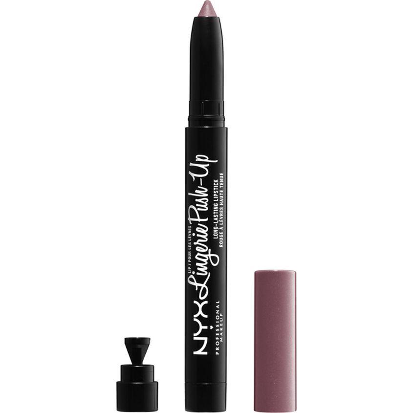 Купить NYX Professional Makeup Матовая помада-карандаш для губ с эффектом увеличения объема. LIP LINGERIE PUSH-UP LONG-LASTING LIPSTICK