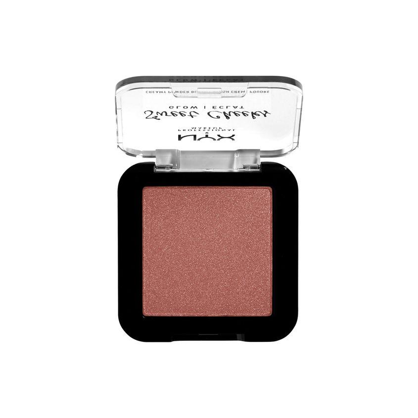 Купить NYX Professional Makeup Сияющие прессованные румяна для лица SWEET CHEEKS CREAMY POWDER BLUSH GLOWY