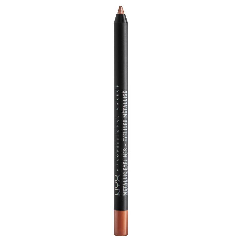 NYX Professional Makeup Металлический карандаш для контура глаз. METALLIC EYELINER